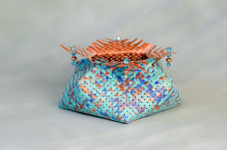 Azure Copper Treasure Chest
