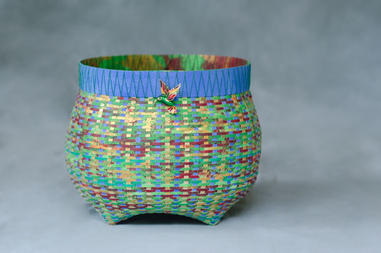 Hummingbird Cathead Basket